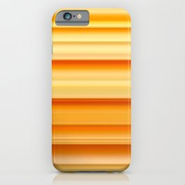 summer time striped pattern iPhone Case
