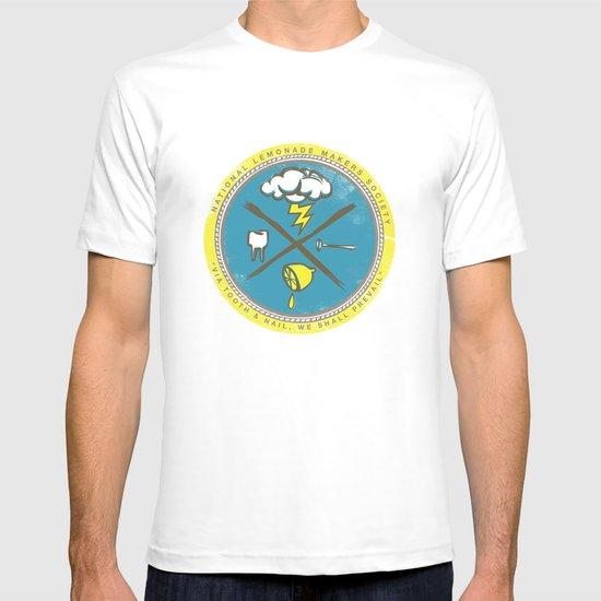 National Lemonade Makers Society Crest T-shirt