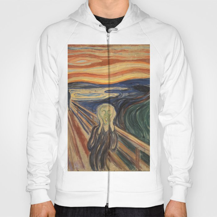 Edwars Munch / The Scream Hoody
