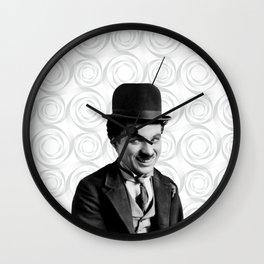 Charlie Chaplin Old Hollywood Wall Clock