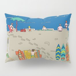 Afternoon at the sea Pillow Sham