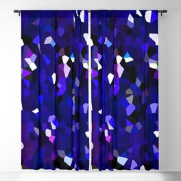 Ultraviolet Mountains Moon Love Blackout Curtain