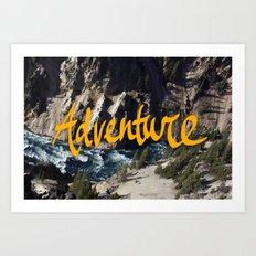 Adventure River Art Print