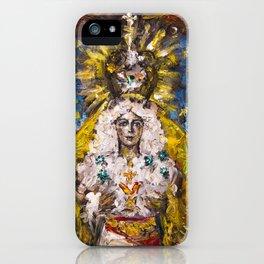 The Virgin of Hope of Macarena iPhone Case