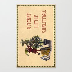 A Merry Little Christmas! Canvas Print