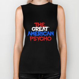 The Great American Psycho (Americana) Biker Tank