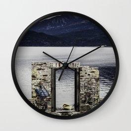 Kaslo Graffiti Wall Clock