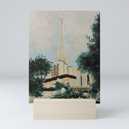 Golden Hour at the Atlanta, GA Temple Mini Art Print