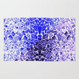 Street Floor Tiles Feeling Blue Tiger-Polka Dot...ish!_Xtreme Blue Edition Rug