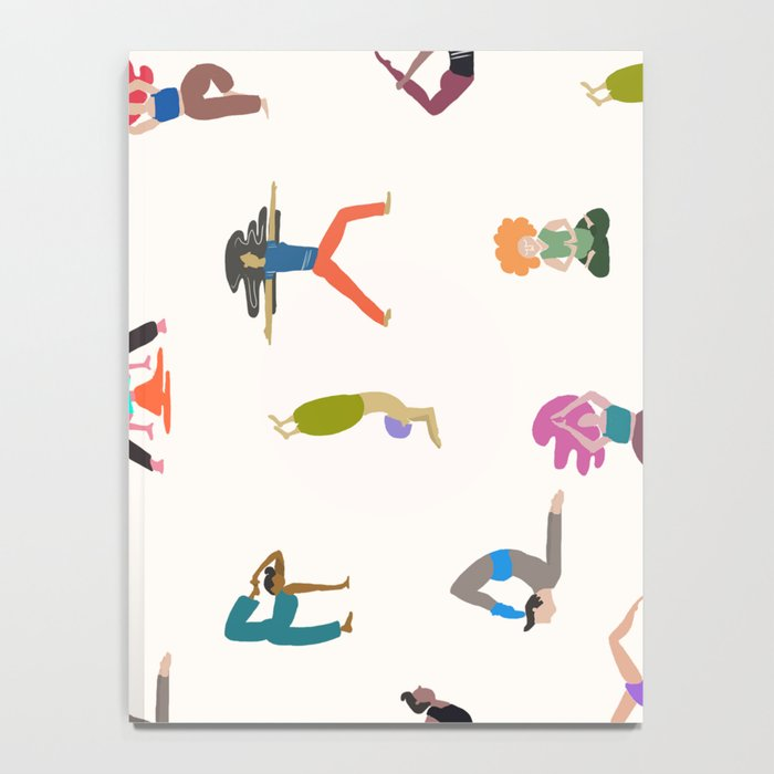 yoga lovers Notebook