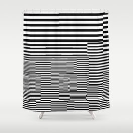 Clubist Tubes Shower Curtain