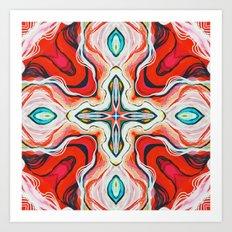Red II Art Print