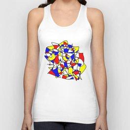 Mondrian Sneeze Unisex Tank Top