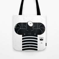 relax Tote Bags featuring relax by GAELDORGERE