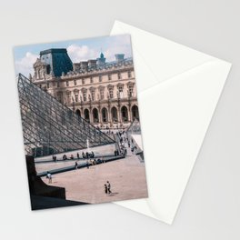 France Photography - Louvre Museum In The Day Stationery Cards