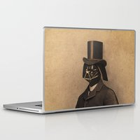 star lord Laptop & iPad Skins featuring Lord Vadersworth by Terry Fan
