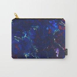 Fluid Acrylic blue Carry-All Pouch