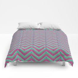 Hot Pink & Mint Comforters