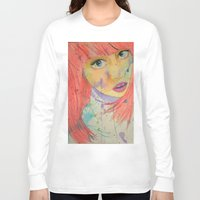 allison argent Long Sleeve T-shirts featuring Allison by Taylor Starnes