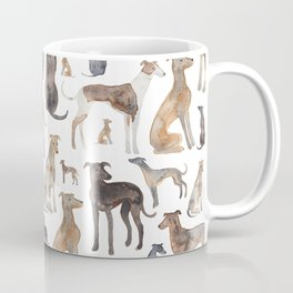 Greyhounds and Whippets Coffee Mug