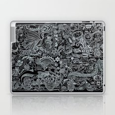 Ancient Figures II Laptop & iPad Skin