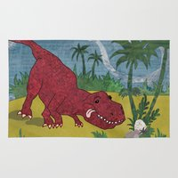 trex Area & Throw Rugs featuring Trex-tra Cuddly by lindsey salles