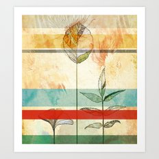 Autumn foliage Art Print