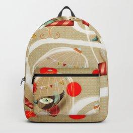 Zu hause ist da wo deine freunde sind  Backpack