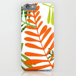 Funky succulents iPhone Case