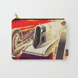 Monaco Grand Prix 1930 - Vintage Poster Carry-All Pouch