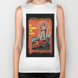 Woman in the red dress meets The Mummy Biker Tank