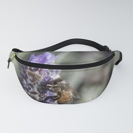 Lavender with Bee Fanny Pack