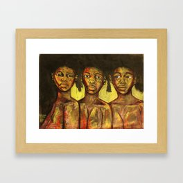 2020 Learning Seeing Knowing Being by Marcellous Lovelace Framed Art Print