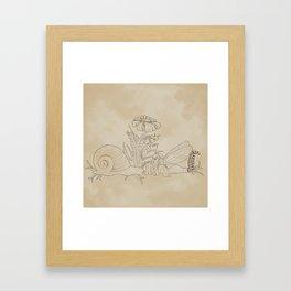 Faerie Boop Framed Art Print