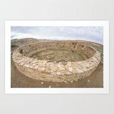 Casa Rinconada - Great Kiva Art Print