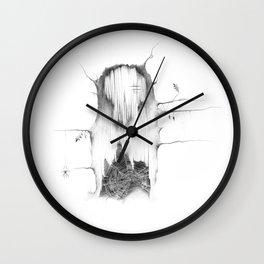All Hallows' Twiglet Wall Clock