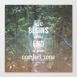 Comfort Zone Canvas Print