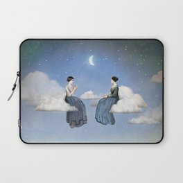 Wind, Clouds and Tea Laptop Sleeve