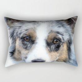 bEbE bLU Rectangular Pillow