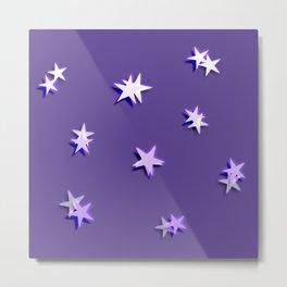 Shiny little stars Metal Print