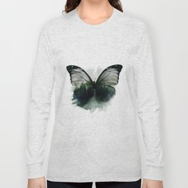 Double Butterfly Long Sleeve T-shirt