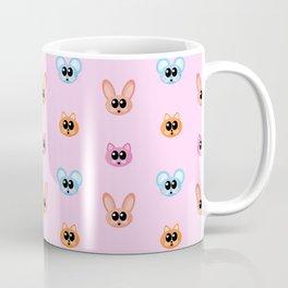 Mouse Cat Rabbit Cute Cartoon Animal Pattern Coffee Mug