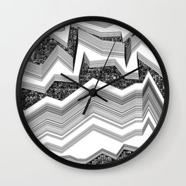 up-down Wall Clock