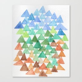 Forest of Tris Canvas Print