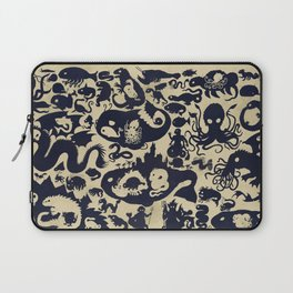 Size Chart of Sea Monsters Laptop Sleeve