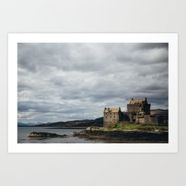 Castle in Scotland Art Print