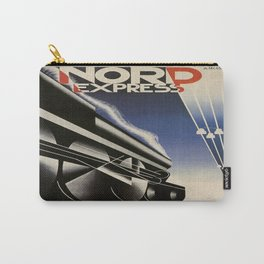 Vintage poster - Nord Express Carry-All Pouch