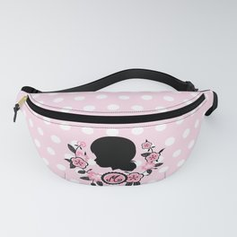 Silhouette of Marinette Fanny Pack