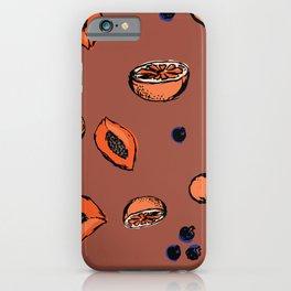 Smoothie Mix iPhone Case