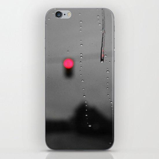 Red Lights Ahead iPhone & iPod Skin